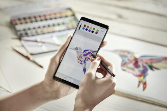 Retour sur la présentation du Samsung Galaxy Note 8