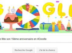Google fête son 19ème anniversaire en #Doodle