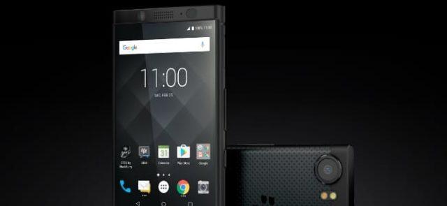 #IFA2017 : TCL présente le BlackBerry KEYone en Black Edition