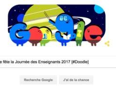 Google fête la Journée des Enseignants 2017 [#Doodle]