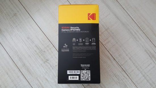 Kodak IP101WG : une caméra Full HD avec tête rotative à moins de 150€ [Test]
