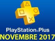 Playstation Plus : les jeux offerts du mois de novembre 2017