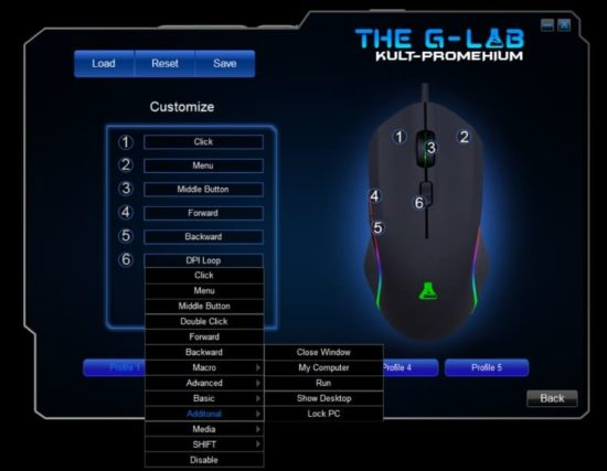The G-Lab Kult Promethium : une souris de gamer à moins de 50€ [Test]