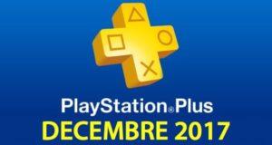 Playstation Plus : les jeux offerts du mois de décembre 2017