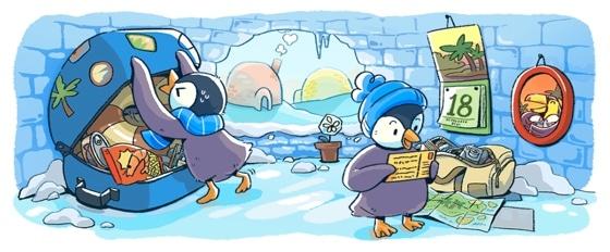 Google vous souhaite de Joyeuses Fêtes [#Doodle]