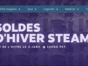 Préparez votre CB, les soldes d'hiver Steam ont démarré !