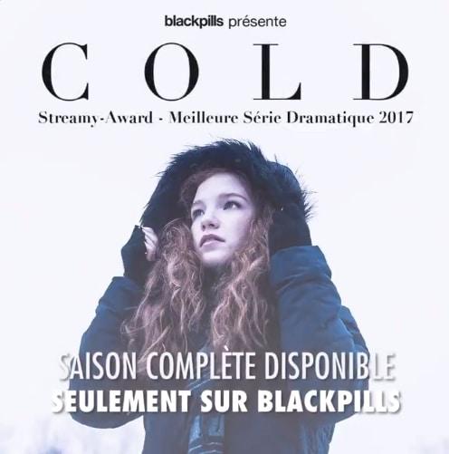 Cold : une série Blackpills primée aux Streamy Awards