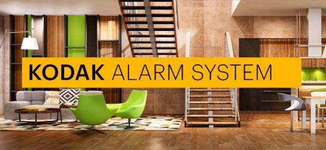 Système d'alarme Kodak SA101 : un système de surveillance