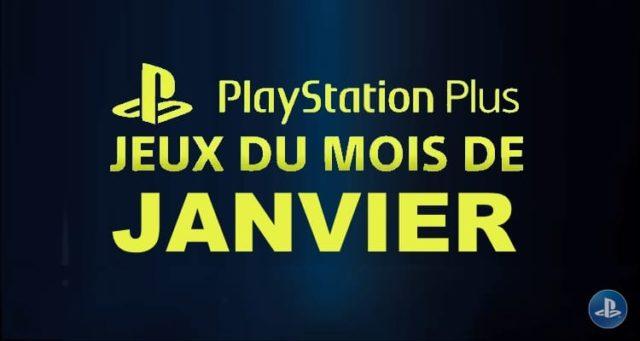 Playstation Plus : les jeux offerts du mois de janvier 2018