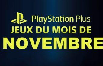 Playstation plus du mois de novembre