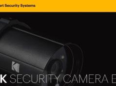 #CES2018 - Kodak va dévoiler sa caméra d'extérieur EF101B, un nouveau produit de la gamme Kodak Security
