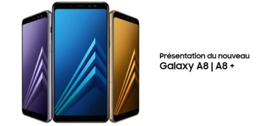 Le Samsung Galaxy A8 est disponible en France