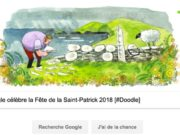 Google célèbre la Fête de la Saint-Patrick 2018 [#Doodle]