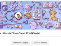 Google célèbre la Fête du Travail 2018 [#Doodle]