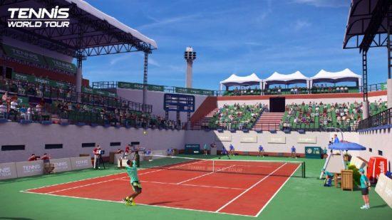 BigBen présente le mode carrière de Tennis World Tour