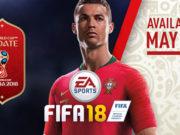 EA Sports FIFA 18 - EA annonce la mise à jour FIFA World Cup Russia