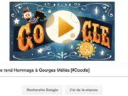 Google rend Hommage à Georges Méliès [#Doodle]