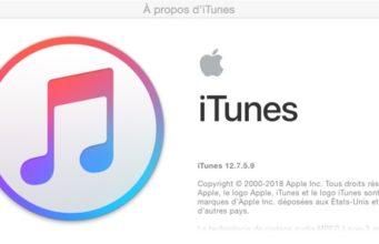 iTunes 12.7.5 est disponible au téléchargement [liens directs]