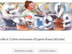 Google fête le 123ème anniversaire d'Eugénie Brazier [#Doodle]