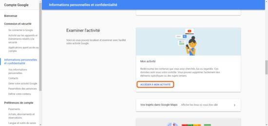 Comment supprimer le contenu de votre activité Google ? [Tuto]