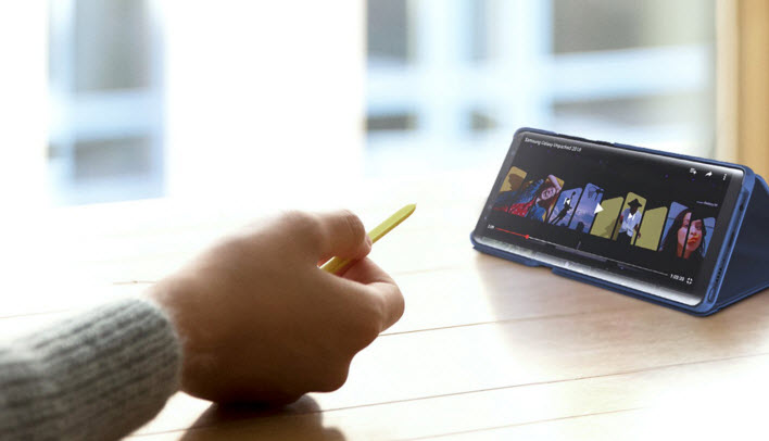 Samsung présente officiellement le Galaxy Note 9
