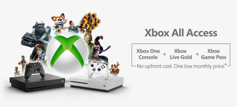 Microsoft officialise Xbox Live Access outre-atlantique, son service de location de consoles