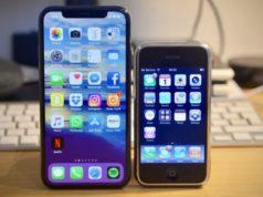 L'évolution des iPhone jusqu'à l'iPhone XS Max
