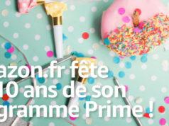 Amazon.fr fête les 10 ans de son programme Prime! [#Infographie]