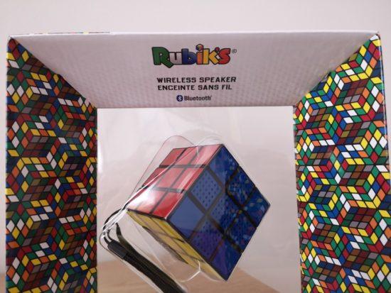 Test de l'enceinte sans fil Rubik's signée Bigben