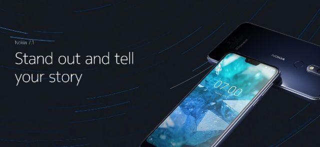 HMD Global a dévoilé son Nokia 7.1