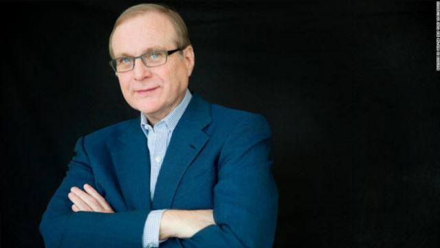 Le co-fondateur de Microsoft, Paul Allen, est mort !