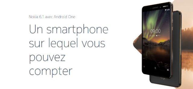 Android 9 Pie est disponible sur Nokia 6.1