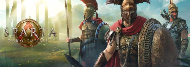 Sur le pied de guerre : Sparta – War of Empires