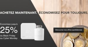 #BlackFriday : Tado solde ses nouveaux thermostats intelligents