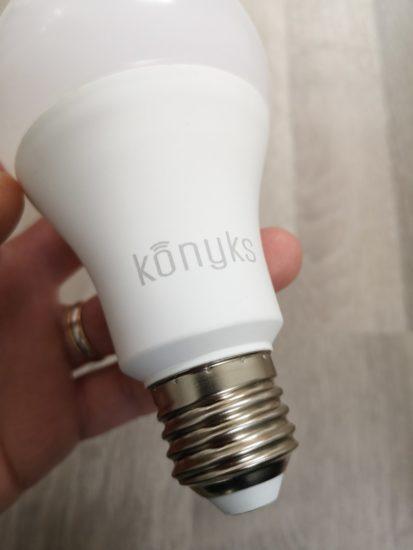 Antalya A70 : l'ampoule connectée WiFi de Konyks [Test]