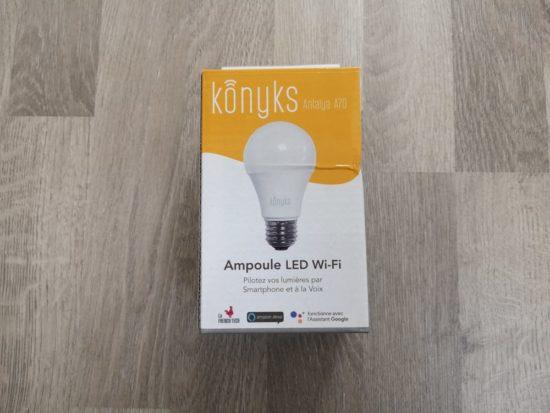 antalya a70 l 39 ampoule connect e wifi de konyks test. Black Bedroom Furniture Sets. Home Design Ideas