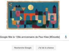 Google fête le 139e anniversaire de la naissance de Paul Klee