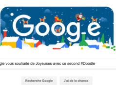Google vous souhaite de Joyeuses avec ce second #Doodle