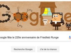 Google fête le 225e anniversaire de Friedlieb Ferdinand Runge [#Doodle]