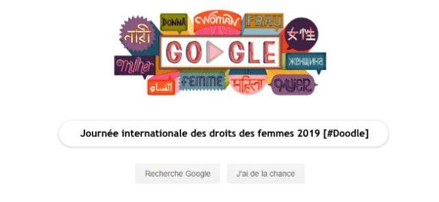 Google fête la journée internationale des droits des femmes 2019 [#Doodle]