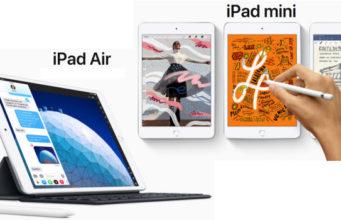 Apple lève le voile sur un nouvel iPad Air et nouvel iPad Mini