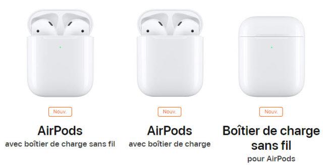 Les AirPods 2 d'Apple sont officiels