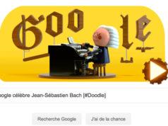 Google célèbre Jean-Sébastien Bach [#Doodle]