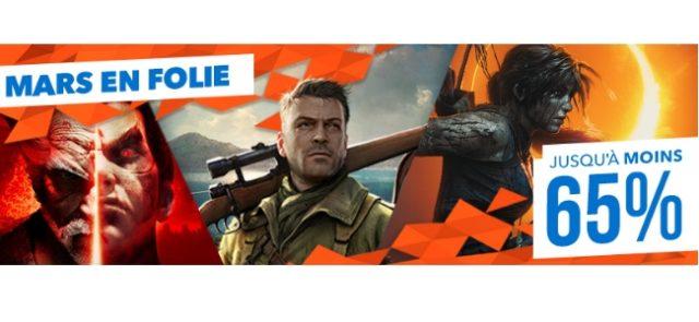 Le PlayStation Store fait le plein de promos