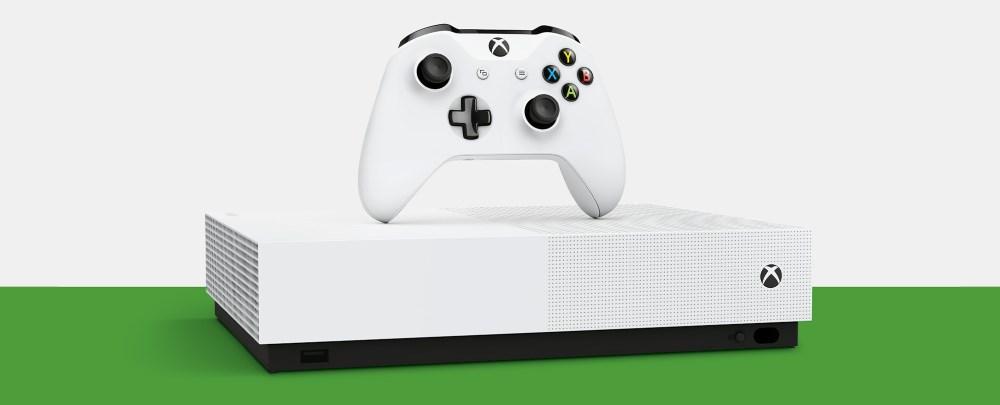 La Xbox One S All-Digital Edition débarque le 7 mai à 229,99€