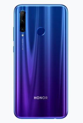 Honor lève le voile sur le Honor 20 Lite