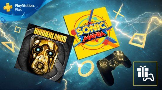 Sonic Mania offert en juin 2019 — PlayStation Plus