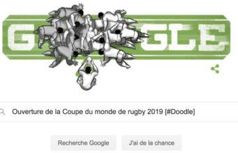 Ouverture de la Coupe du monde de rugby 2019 [#Doodle]