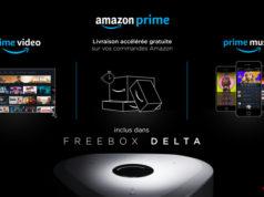 Amazon Prime est maintenant inclus au forfait Freebox Delta