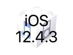 L'iOS 12.4.3 pour les iPhone 5s, 6, 6 Plus, iPad mini 2, 3, Air 1, iPod Touch 6 est disponible